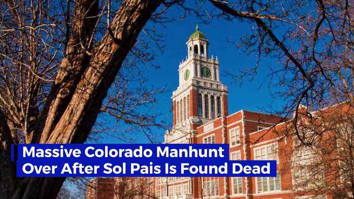 Massive Colorado Manhunt Over After Sol Pais Is Found Dead