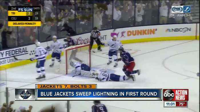 Bolts season ends in sweep