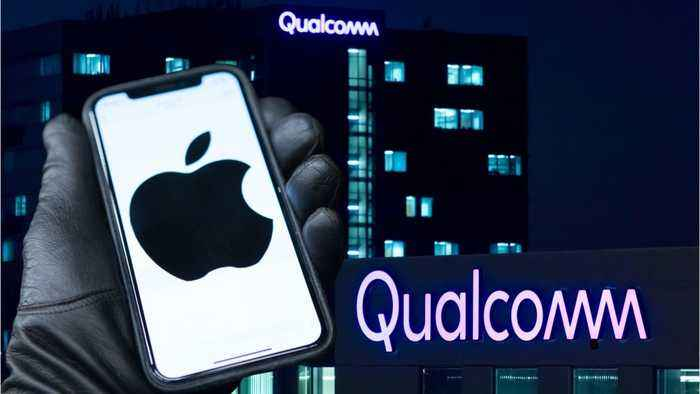 Qualcomm Stock Soars After Settling Patent Dispute With Apple