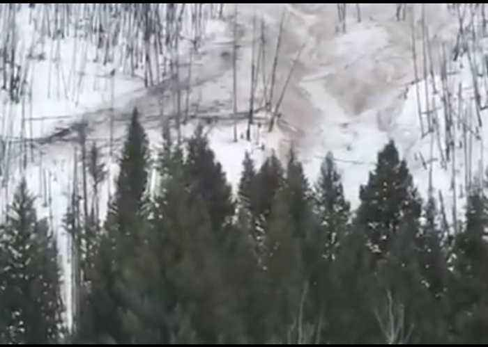 Avalanche Damages Homes in Ketchum, Idaho