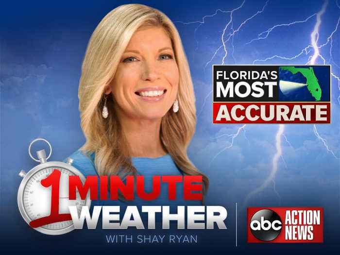 Florida's Most Accurate Forecast with Shay Ryan on Wednesday, April 17, 2019