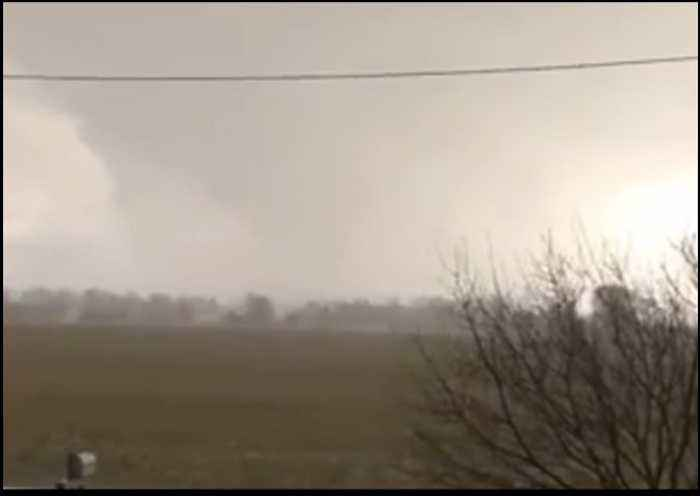Damaging Tornado Touches Down in Shelby, Ohio