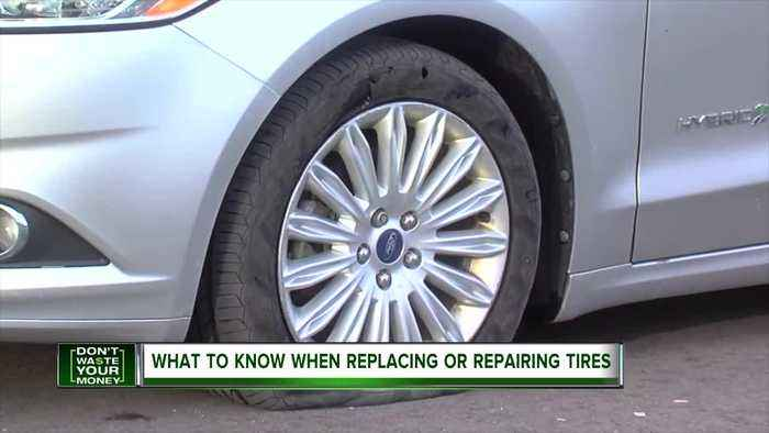 What to know when replacing or repairing tires