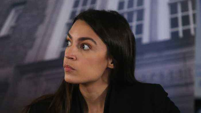 Mystery Surrounds AOC's Cancelled Book Deal