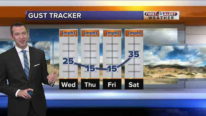 13 First Alert Las Vegas weather updated April 17 morning