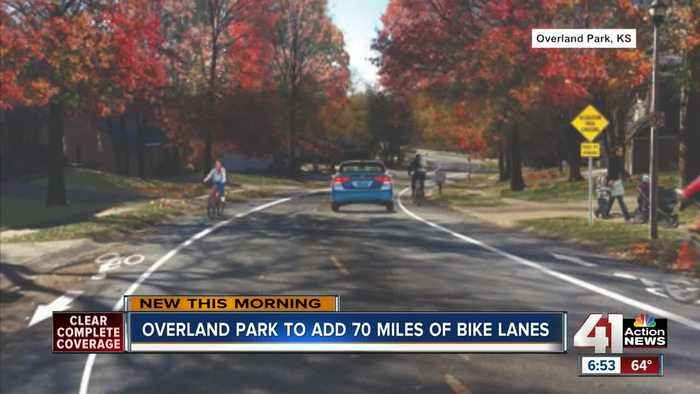 Overland Park adding 70 miles of bike lanes to roads south of I-435
