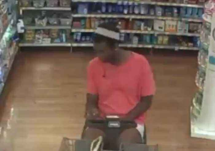 Police Search for Suspect on Motorized Wheelchair Who Stole Wallet