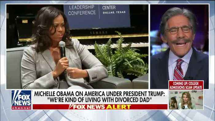 Sean Hannity and Geraldo Rivera talking about Michelle Obama