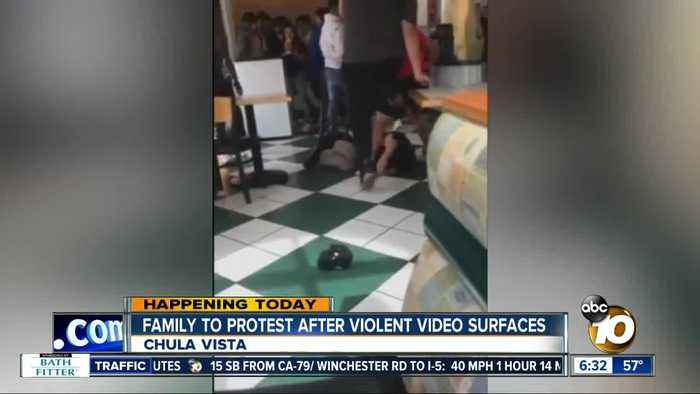 Family to hold protest outside Chula Vista restaurant after violent video surfaces