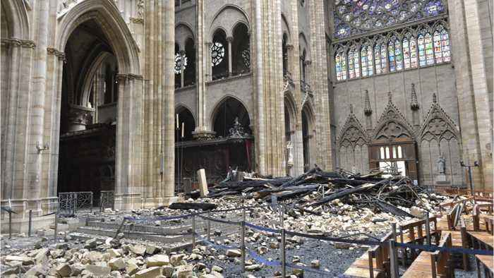 Emmanuel Macron Announced Plans To Rebuild Notre-Dame In 5 Years