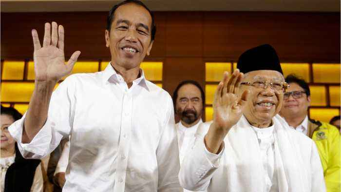 Indonesia's Widodo Appears Set For Election Win