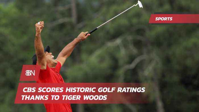 Tiger Woods Lands Big Viewership On CBS