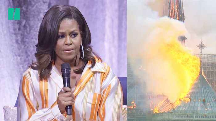 Michelle Obama On The Notre Dame Fire In Paris