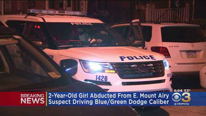 Police Negotiating With Man Who Abducted Ex-Girlfriend's 2-Year-Old Girl In East Mount Airy, Police Say