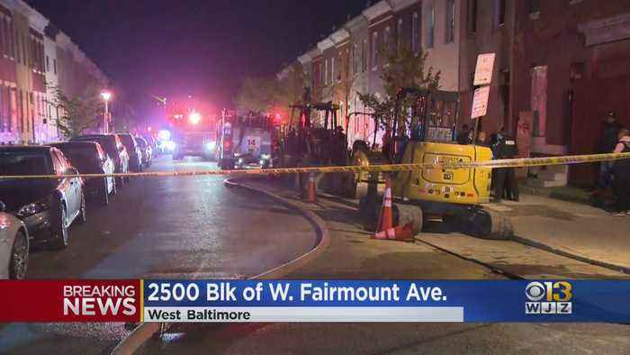 Woman Dies In Baltimore House Fire
