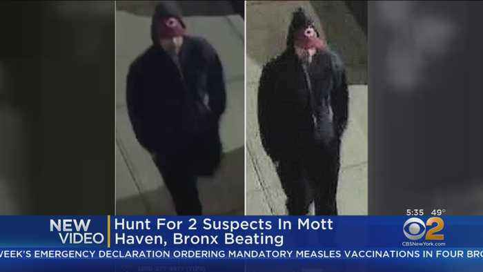 Vicious Beating In The Bronx
