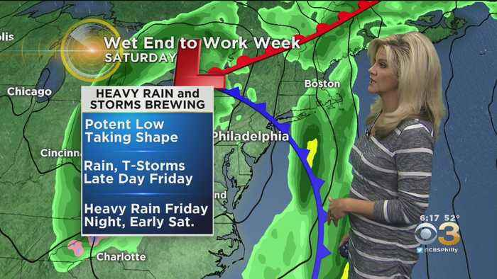 Wednesday Morning Forecast: Multiple Chances For Showers