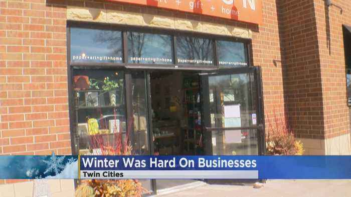 Winter Hit Minnesota Businesses Hard