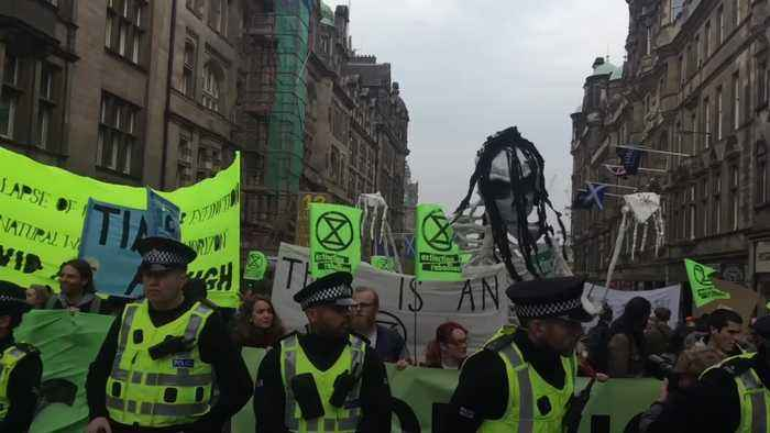 Why is Extinction Rebellion still protesting?