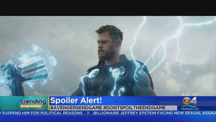 Trending: Avengers: End Game Leaked Footage