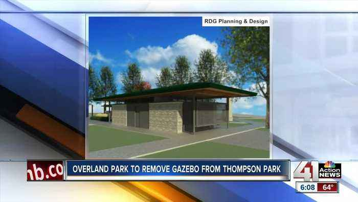 Overland Park signs off on plan for renovations to Thompson Park, removing existing gazebo