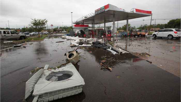 Tornadoes, Thunderstorms Continue To Pound U.S. South & Midwest