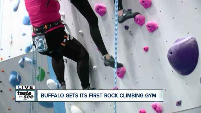 Challenge yourself at Central Rock Buffalo