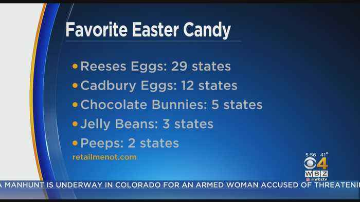 Survey: Massachusetts' Favorite Easter Candy Is Reese's Peanut Butter Chocolate Eggs