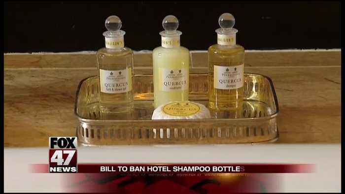 California hotels may be banned from giving shampoo bottles