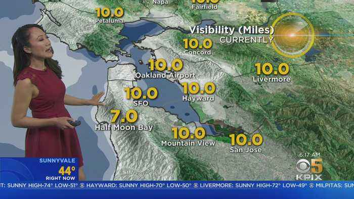 KPIX 5 Wednesday Weather Forecast
