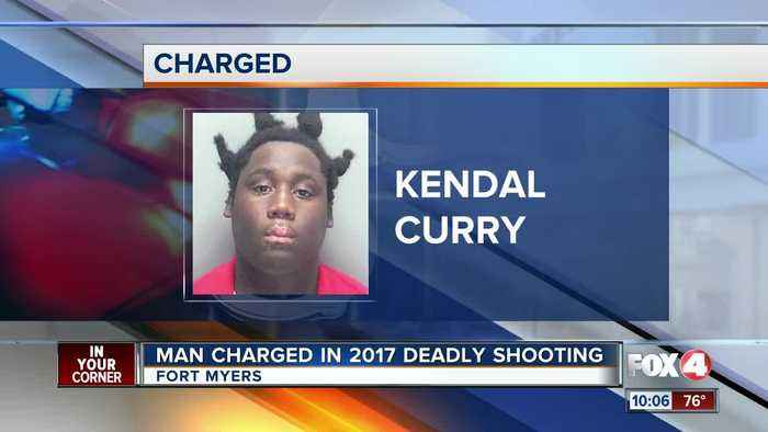 Man charged in 2017 deadly shooting in Fort Myers