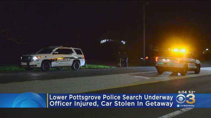 Police Searching For Armed Suspect Wanted In Confrontation With Lower Pottsgrove Township Police Officer
