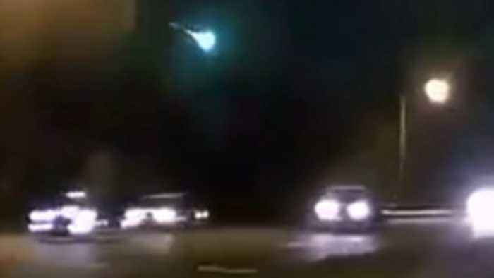 Reported meteor lights up Maryland sky
