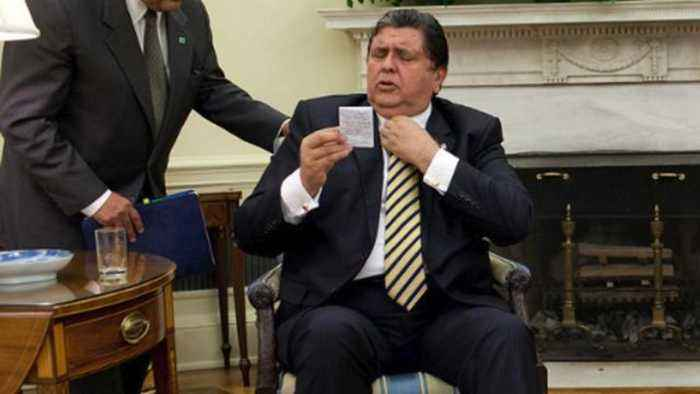 Peru's Former President Alan Garcia Shoots Himself Before Arrest