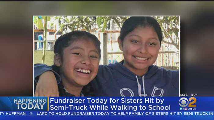 LAPD Newton Station Hosts Fundraiser For Sister Struck By Big Rig
