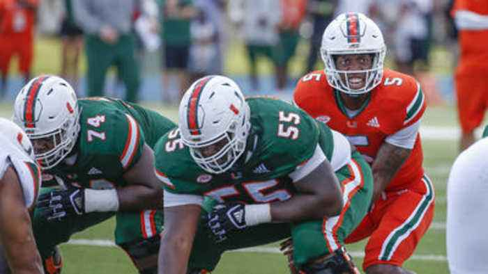 UM offensive lineman Navaughn Donaldson breaks down his move to center