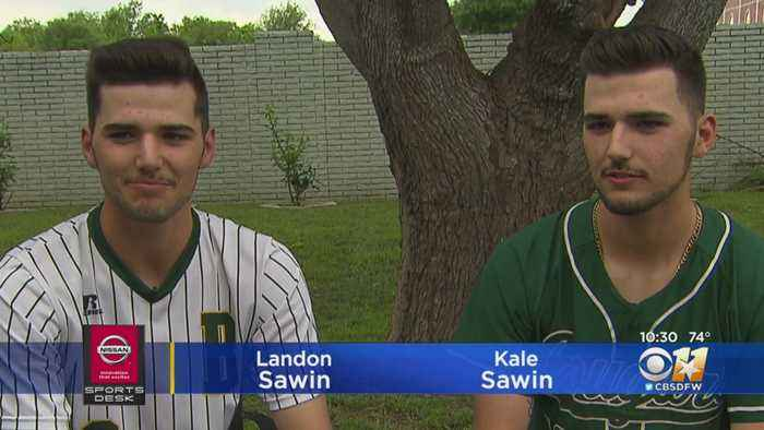 Baseball Matchup Pits Identical Twins Against Each Other