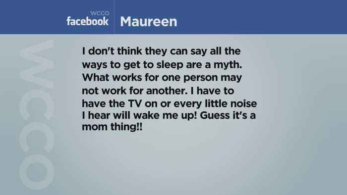 Viewers Weigh In On Popular Sleep Myths