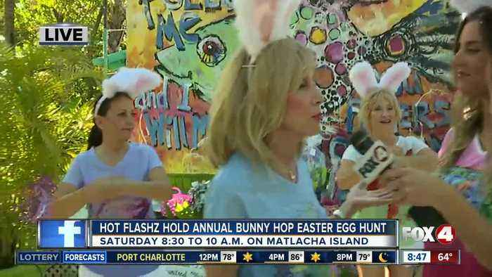 Local Entertainment group holds eighth annual bunny hop easter egg hunt