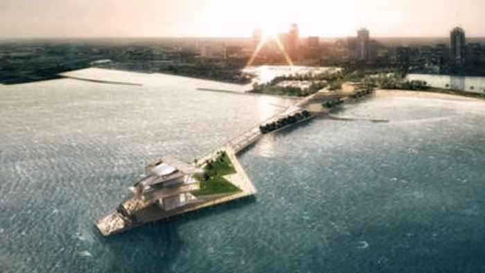 Animated rendering tour of the St. Pete Pier