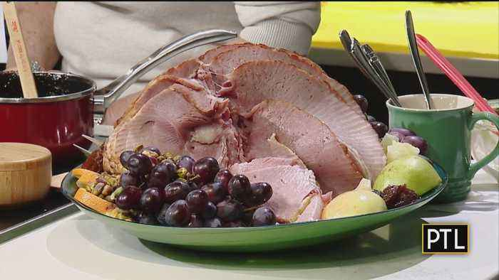 Cooking With Rania: Baked Ham With 2 Sauces