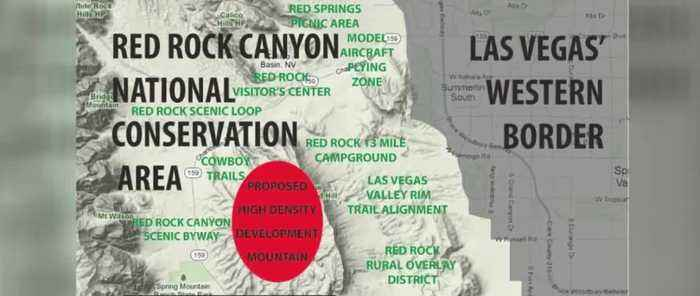 Commissioners vote on the future of Red Rock Canyon