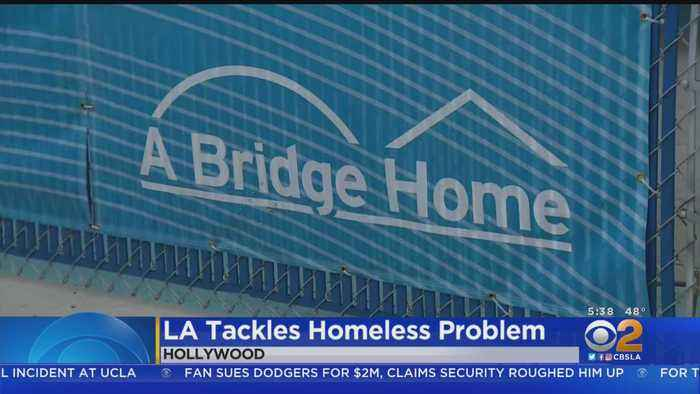 New Homeless Shelter Opens In Hollywood