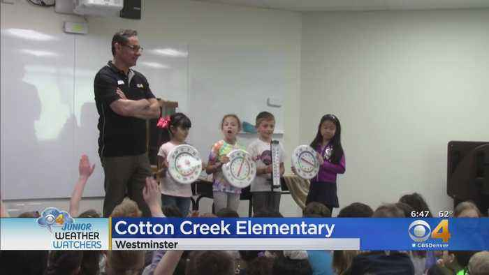 Junior Weather Watchers Weather Visit: Cotton Creek Elementary In Westminster