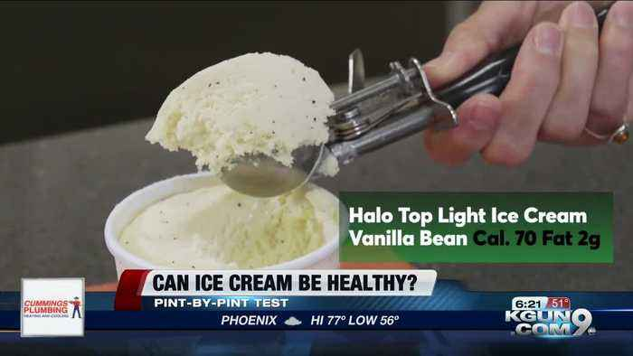 Consumer Reports: Can ice cream ever be healthy