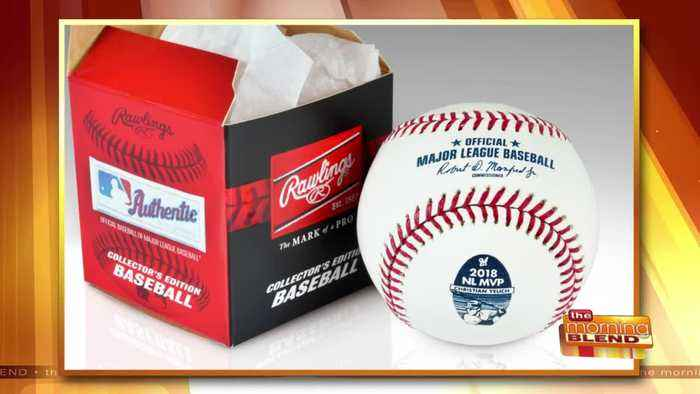 A Special Baseball Celebrating Our MVP