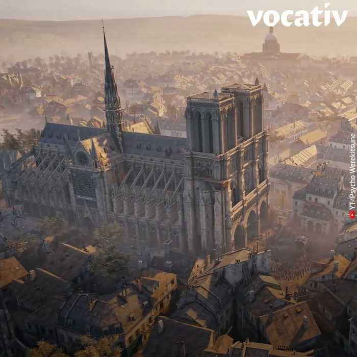 Assassin's Creed Images and 3D Scans Could Help Rebuild Notre Dame After Devastating Fire