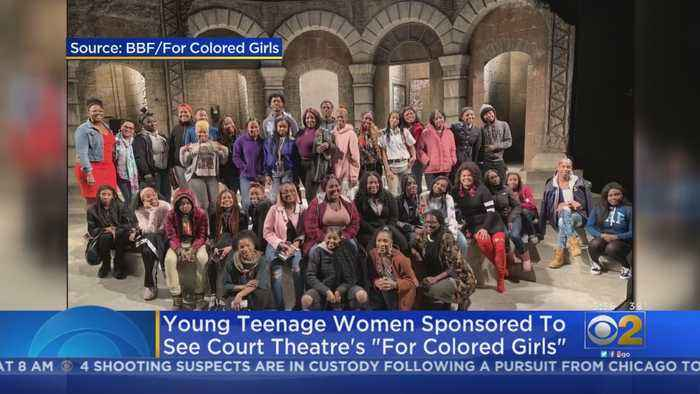Young Women Sponsored To See Court Theatre's 'For Colored Girls'