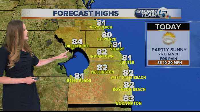 South Florida Wednesday afternoon forecast (4/17/19)