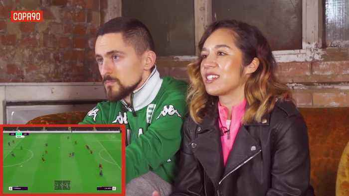 This is what happened when Vuj took on Chelcee Grimes in a FIFA game with a twist...